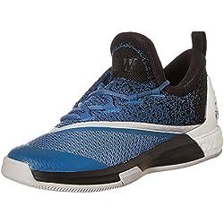 Adidas Crazylight Boost 2.5 Low, Zapatillas de Baloncesto para Hombre, Azul (Azucap/Negbas/Ftwbla), 44 2/3 EU