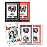 Modiano - Carte da poker Modiano WSOP - Rosso