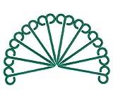 Dehner Gartenzubehör, Netz- und Folienhalter, 15 cm, 10 Stück