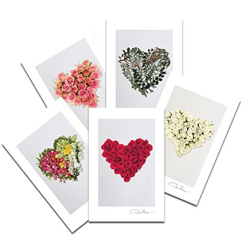 love-postal-con-diseno-de-corazon-de-flores-prints-variety-pack-4-x-6-2-de-cada-5-corazon-series-reg