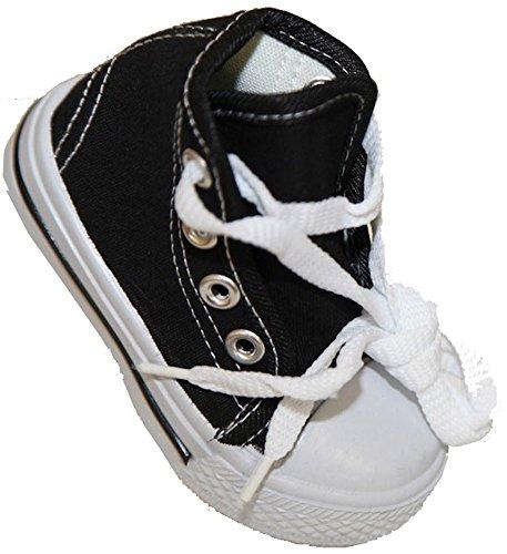 Pierre-cedric Basket bébé mixtes garçons filles montant toile fermeture lacets