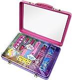 Markwins Styling-Set in coolem Koffer, 1er Pack (Haar-Kreide, Kamm, Haarschmuck, Hair-Extensions, Nagellack)