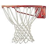 Champion Sports Non-Whip Basketball Netze, weiß, Verschiedene Größen, 417, Deluxe Professional (7mm - White), 7 mm