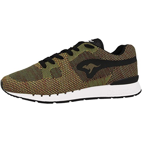 KangaROOS Coil R1-Woven, Baskets Basses Mixte Adulte, Einheitsgröße Multicolore