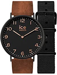 Ice-Watch City Damenuhr Analog Quarz mit Lederarmband – 001375