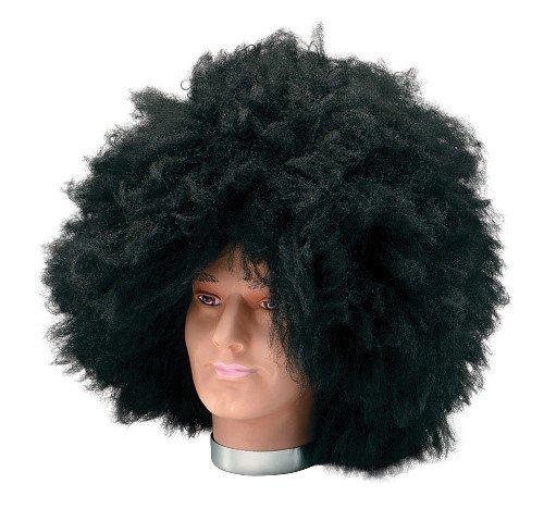 60s 70s Jumbo Afro Jimi Hendrix Male Fancy Dress Wig - Black by Parties (Perücke Jumbo Afro)