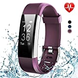Axloie Fitness Band, YG3plus Smart Band with Heart Rate Sleep Monitor for Men