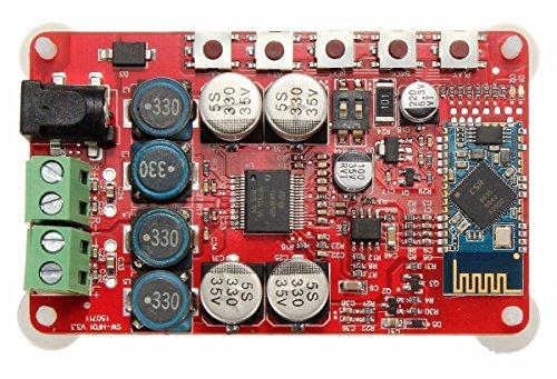 ARCELI Verstärkerplatine TDA7492P Audio Receiver Verstärker DIY Modul 25W Dual Channel