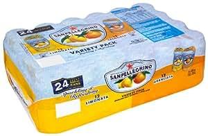 Sanpellegrino Rainbow Limonata Aranciata Pack (Pack of 24)