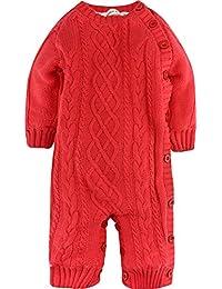 ZOEREA grenouillère bébé pull bébé fille barboteuse enfant pyjamas bébé vetement bebe fille costume enfant garçon manches longues vestes hiver