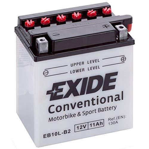 Batterie moto Exide YB10L-b2 12v 11ah
