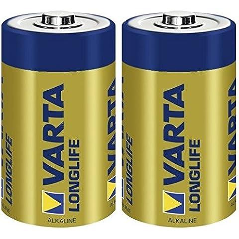 Varta D LR20 - Pila alcalina, 1.5 volts, 2 unidades, tamaño D