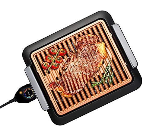 GOTHAM STEEL GRILL01 SMOKLESS GRILL Le barbecue d'intérieur