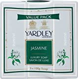 Yardley Soap, Jasmine, 100g (Pack of 3)