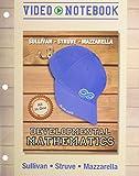 Video Notebook for Developmental Mathematics: Prealgebra, Elementary Algebra, and Intermediate Algebra