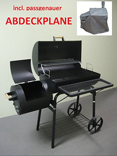 Kiug� (WP032) OGA032 32kg���Weather Plane XXL BBQ Grill Cart Charcoal Grill Barbecue Smoker Up To 1.5�mm Steel Professional Quality