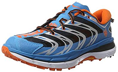 Hoka One One Men's Speedgoat Trail Running Shoes, Blue/Red