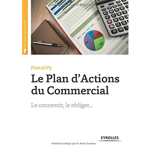 Le plan d'actions du commercial: Le concevoir, le rédiger...