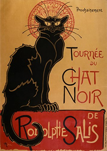 chat-noir-retro-vintage-poster-stampa-in-tutte-le-taglie-carta-a2
