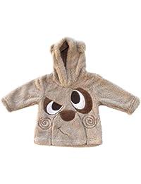Prends Ton Pouce - Pull/Sweat Bébé À Capuche - du 6 au 23 mois, en coloris Gris - Chaud et tout doux