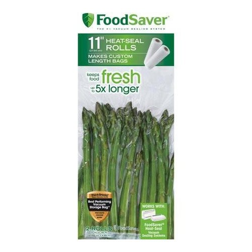 FoodSaver 11 in x 16 ft Roll, by FoodSaver (11 Zoll Saver Roll Food)