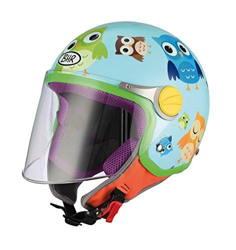 CASCO BIMBO//A CGM COMICS FUCSIA ROSA LUCIDO SUPER LEGGERO MOTO SCOOTER