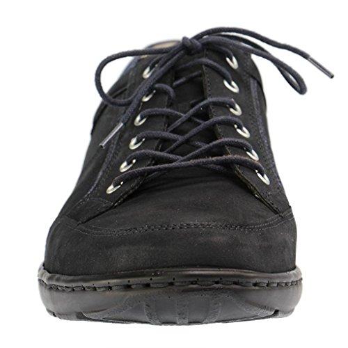 à femme 496013201 lacets Waldläufer ville 194 pour Bleu Chaussures de 8pXwq