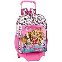 aa0068df77 Barbie Celebration - Zaino per la scuola ufficiale con trolley