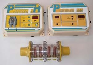 Pacific industrie - pacific sea 100 pha - Traitement automatique par electro-ionisation cuivre/argent avec régulation ph