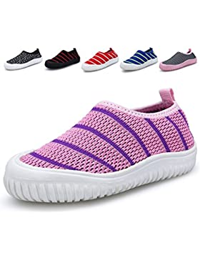 Bdawin Kinder Jungen Mädchen Baby Turnschuhe Schlüpfen Atmungsaktiv Sneaker Schuhe für Gehen Laufen