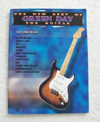 The New Best of Green Day for Guitar: Easy Tab Deluxe (Green Tab Day Guitar)