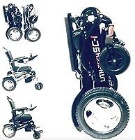 LITH-TECH SMART CHAIR 1 Lightweight Electric folding wheelchair (Lithium Battery)