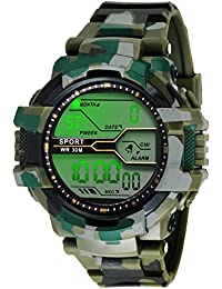 Ziera Digital Multicolor Dial Men's & Boy's Digital Watch - Zr903