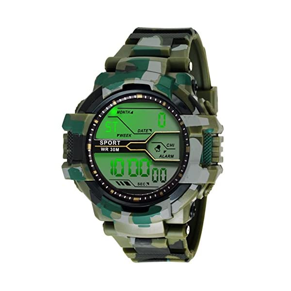 Ziera Digital Multicolor Dial Men's & Boy's Digital Watch – Zr903
