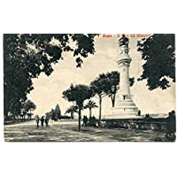 1930 Roma Il Faro sul Gianicolo Guller destinazione Lucca FP B/N VG ANIM Cartolina Postale - Faro Storico Collezione