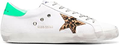 Golden Goose Luxury Fashion Uomo GMF00101F00123580917 Bianco Pelle Sneakers | Stagione Permanente