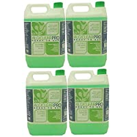 Algiclear Pro The Professional Moss, Algae, Mould & Liverwort Remover-Works In Days,Lasts For Months.Ready to use(4x5 litre) Use On Roofs,Patios,Decking,Paving,Fencing,Tarmac And Much More!