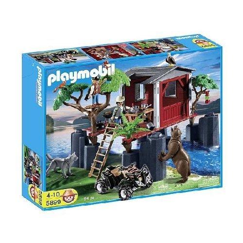 Playmobil 5899 la faune TREEHOUSE nouveau 2012