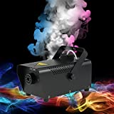 Tomshine Machine à Fumée 400W avec télécommande filaire pour Halloween Mariages Les fêtes Théâtres Discos DJ