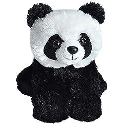 Wild Republic - Hug'ems, Peluche Panda, 18 cm (16245)