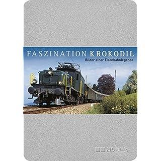 Faszination Krokodil, Postkartenbox: Alubox mit 50 Postkarten