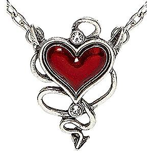 WIDMANN?Collar Gemma Corazón diabolico Womens, rojo, talla única, vd-wdm46756