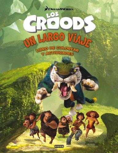 Los Croods. Un largo viaje. Libro de colorear y actividades (Libros de colorear)