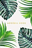 Address Book: Ferns, 6'x9', 130 Pages, Professionally Designed