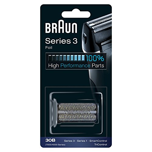 Braun Elektrorasierer Ersatzscherteil 30B, kompatibel mit Series 3 Rasierern, schwarz
