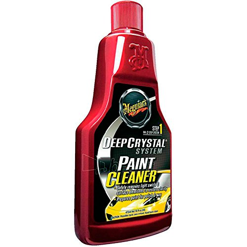 Meguiar's A3016EU Deep Crystal Paint Cleaner Lackreiniger, 473ml - Lack-reiniger