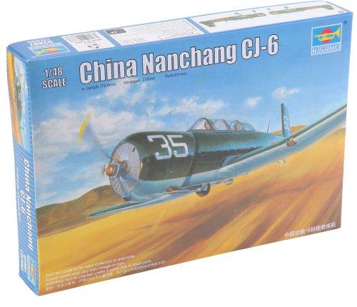 modellino-aereo-chinese-air-force-nanchang-cj-6-primary-trainer-aircraft-scala-148-importato-da-giap