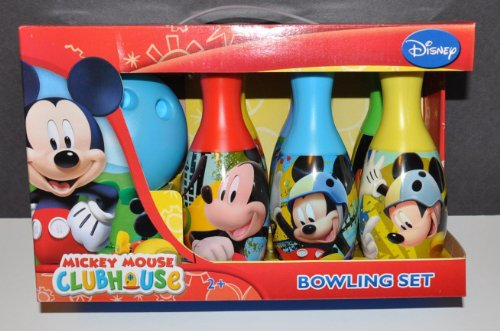 Mickey Mouse Club House Bowling and Skittles Set