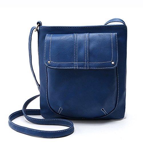 GSPStyle, Borsa a spalla donna blu (blu)