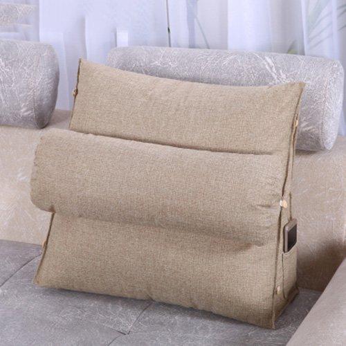 Tridimensionali cuscini triangolari delta letto in cotone - Cuscini per spalliera letto ...